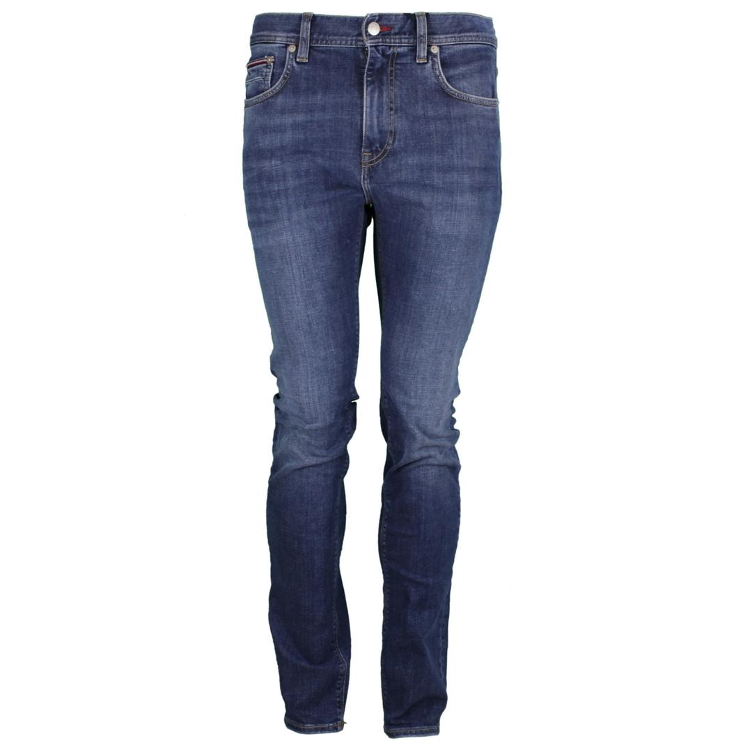 Tommy Hilfiger Herren Jeans Hose Jeanshose Slim Bleecker MW0MW18854 1C1 Denim