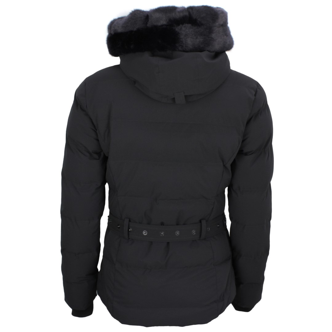 Wellensteyn Damen Winter Jacke Mantel Mayfair schwarz MAYF 856 schwarz