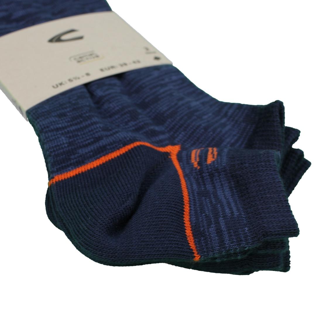 Camel active Sneaker Socken Doppelpack blau 6209 396