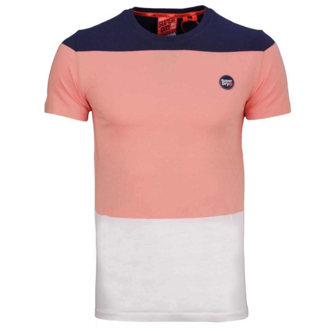 Superdry T-Shirt Collective Colour Block mehrfarbig M1010149A 3EB pasadena pea