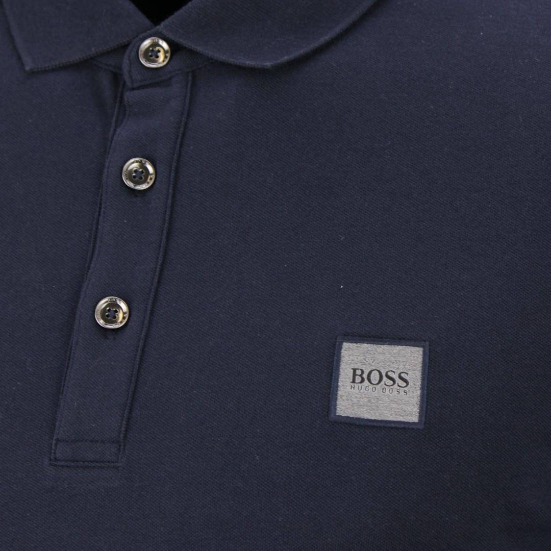 BOSS Hugo Boss Rugby Shirt dunkel blau Passerby 50387465 404 dark navy