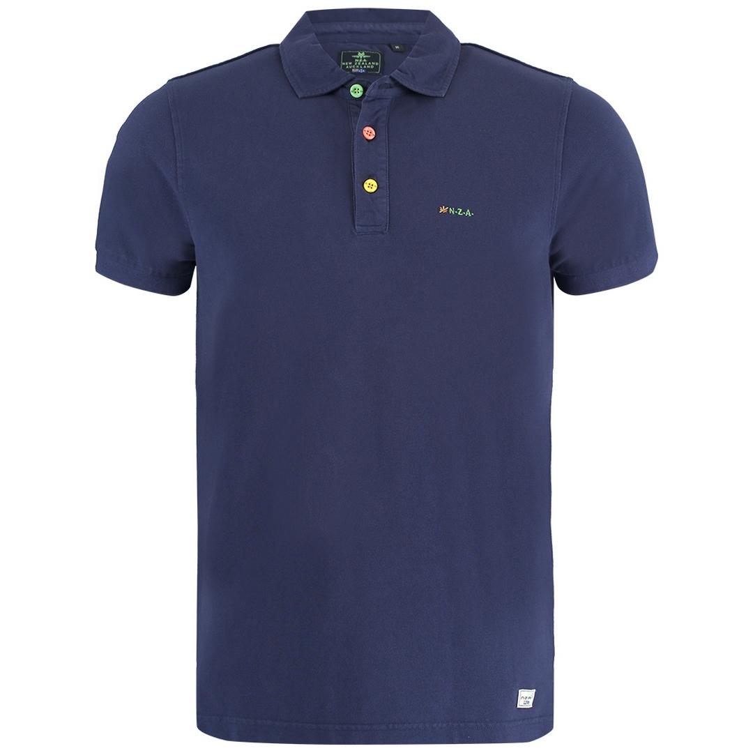 New Zealand Auckland NZA Polo Shirt dunkel blau 21CN150 281