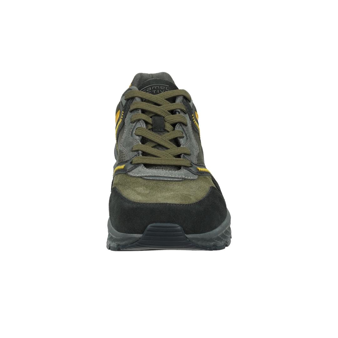 Camel active Herren Sneaker Viceroy Schnürschuhe schwarz grün 23233526 black multi