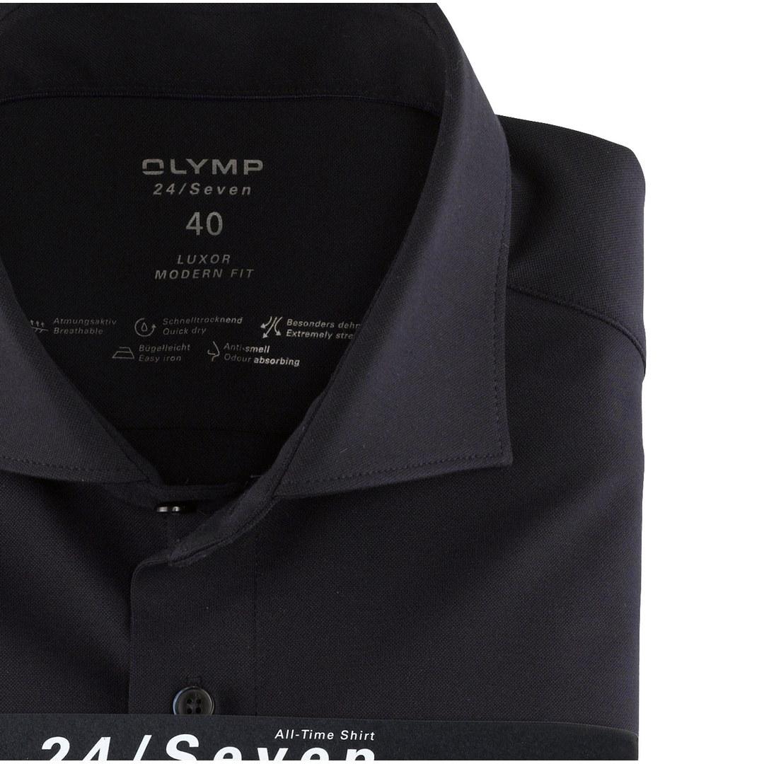 Olymp Luxor 24/Seven Business Hemd Businesshemd Modern Fit marine 121084 18