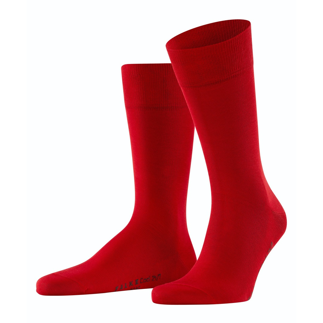 Falke Socke Business Strumpf rot Cool 24/7 13230 8280 scarlet
