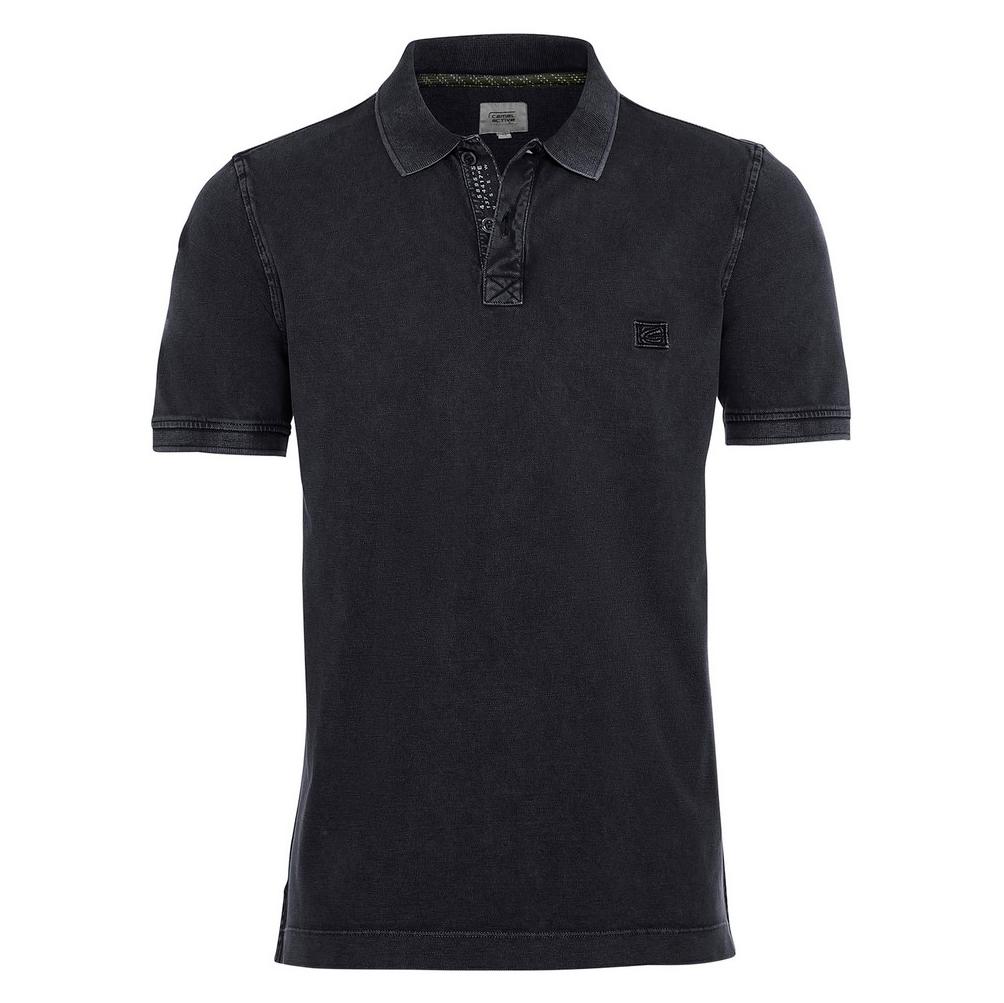 Camel active Herren Polo Shirt dunkel blau unifarben 9P00 409460 47
