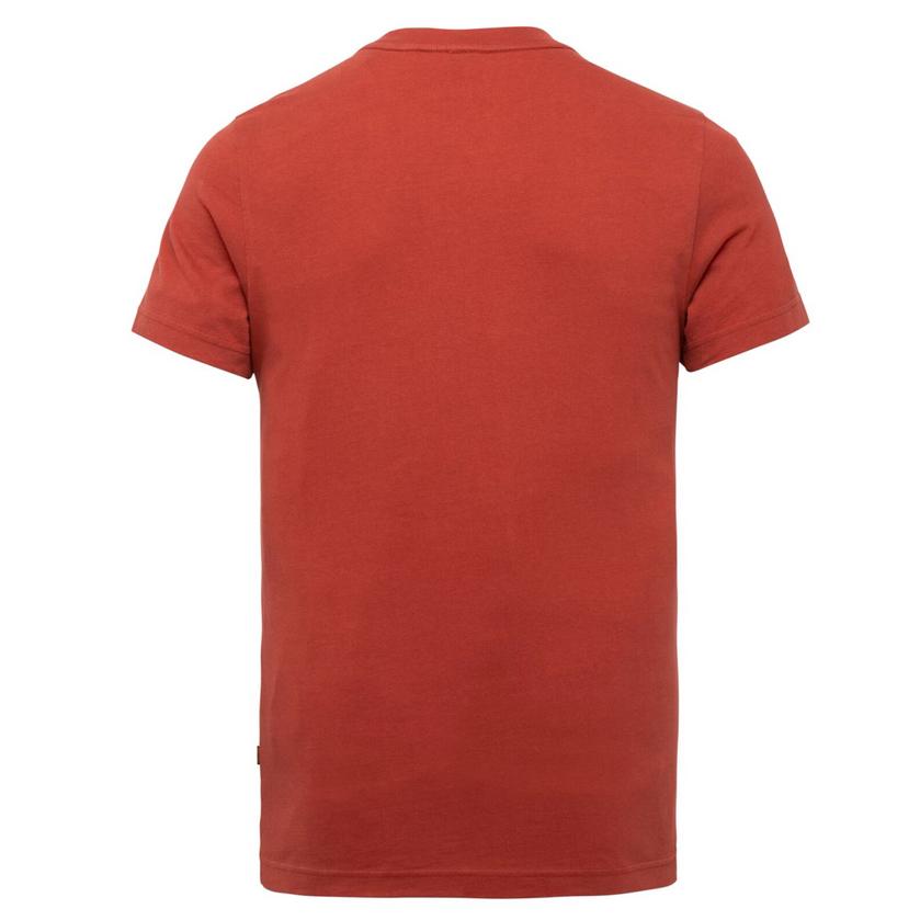 PME Legend Herren T-Shirt short sleeve peach heavy rot PTSS216571 3048 ketchup