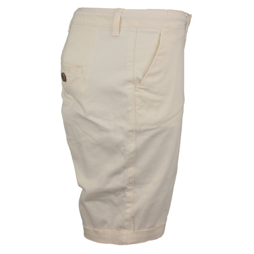 Superdry Damen Shorts City Chino Short weiß unifarben W7110007A PCB oyster