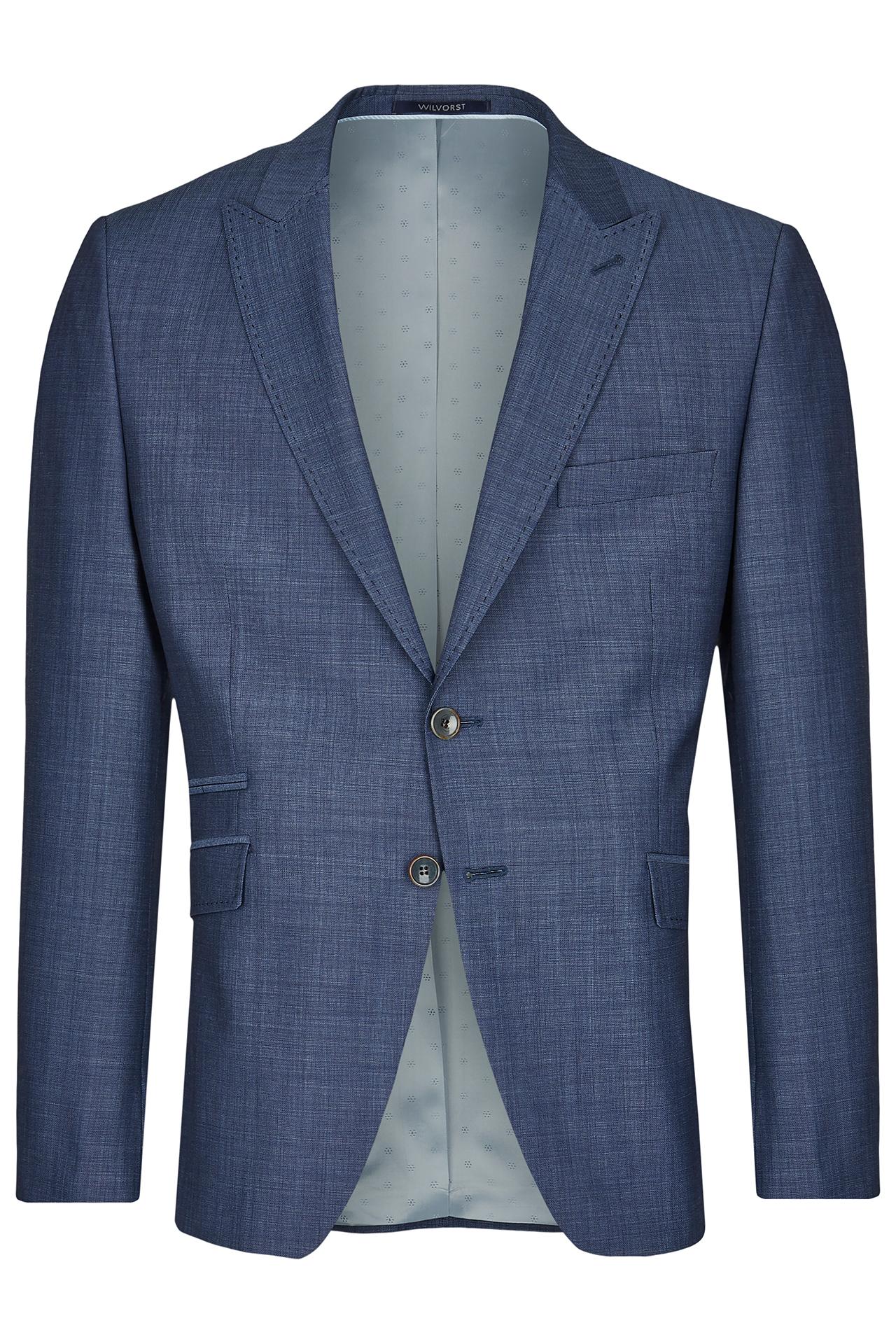 Wilvorst Hochzeitsanzug Sakko blau Green Wedding 401106 10372 034