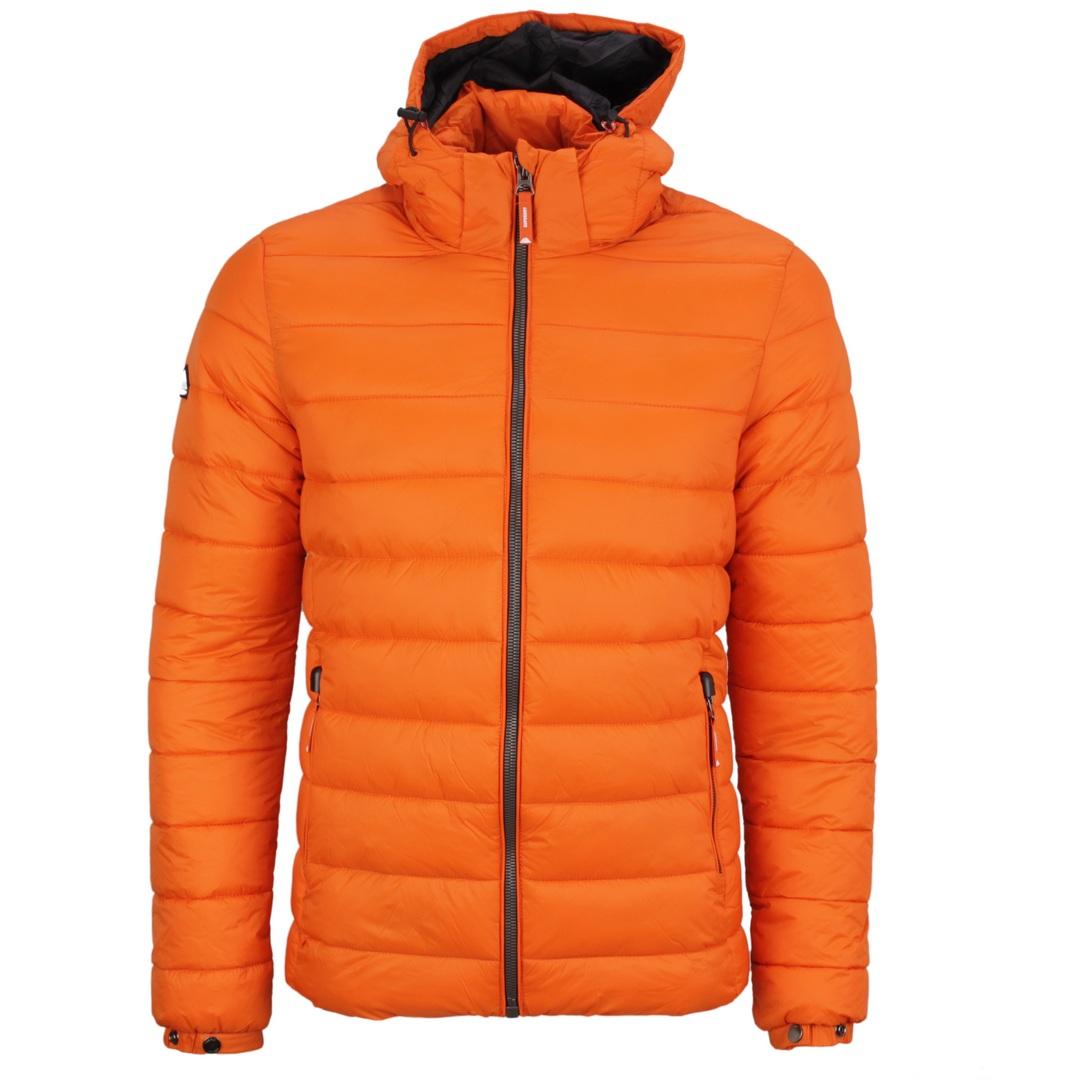 Superdry Herren Freizeit Jacke Steppjacke M5011201A KWC rustic orange Classic Fuji Puffer Jacket