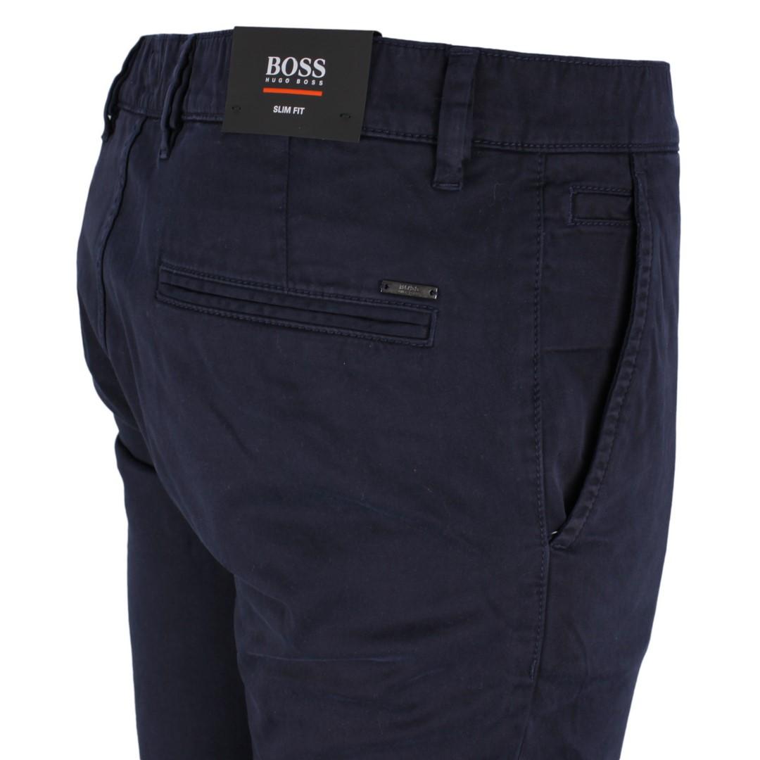 BOSS Hugo Boss Chino Hose dunkel blau Schino Slim 50379152 404