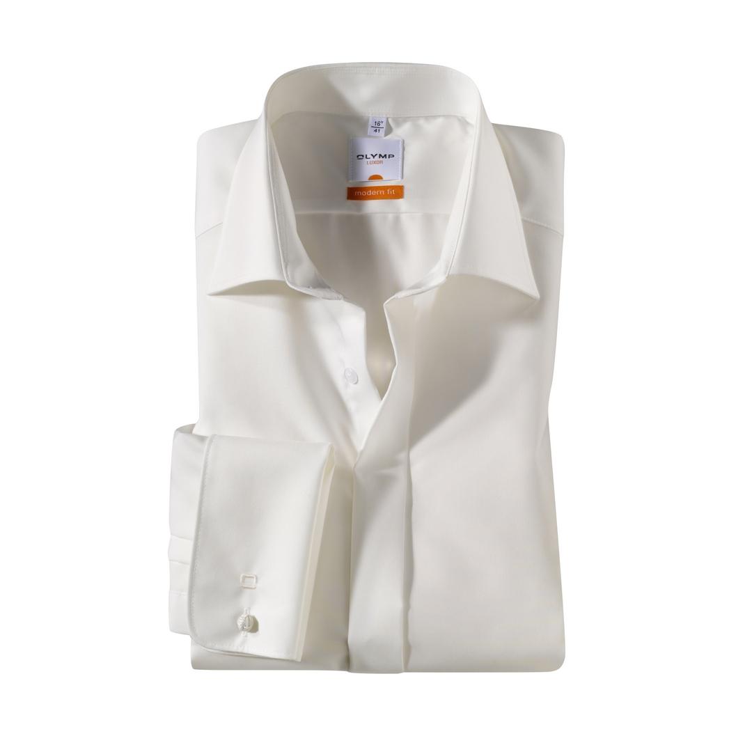 Olymp Luxor Soirée Hemd Hochzeit Hochzeitshemd Business beige 039465 21