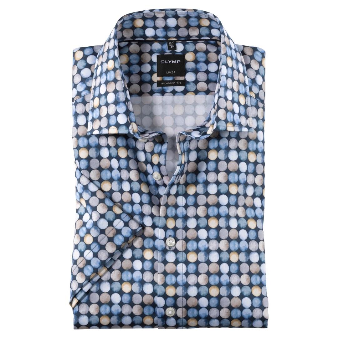 Olymp Luxor Modern Fit Kurzarmhemd Hemd Business 121972 11