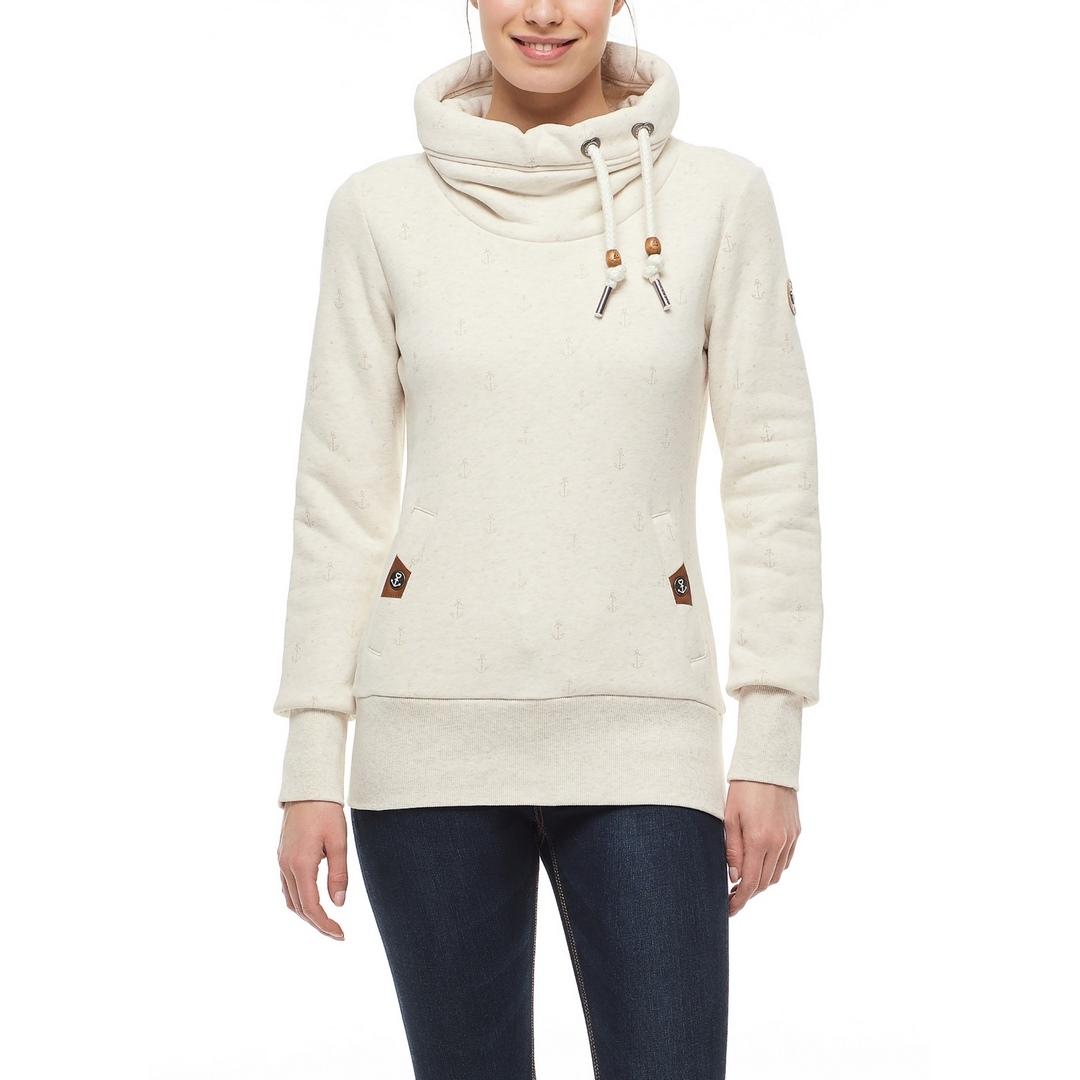 Ragwear Damen Sweat Pullover beige Rylie Marina 2121 30014 6000