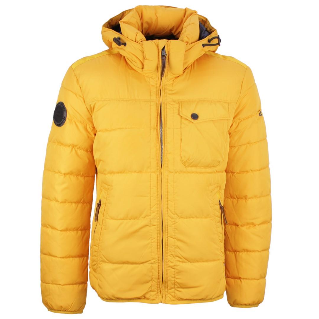 Camel active Herren Winter Jacke gesteppt gelb 2X23 420800 72