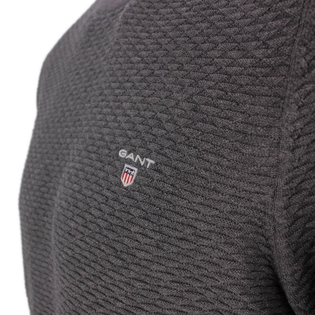 Gant Strick Pullover Triangel Texture C-Neck  8030030 95