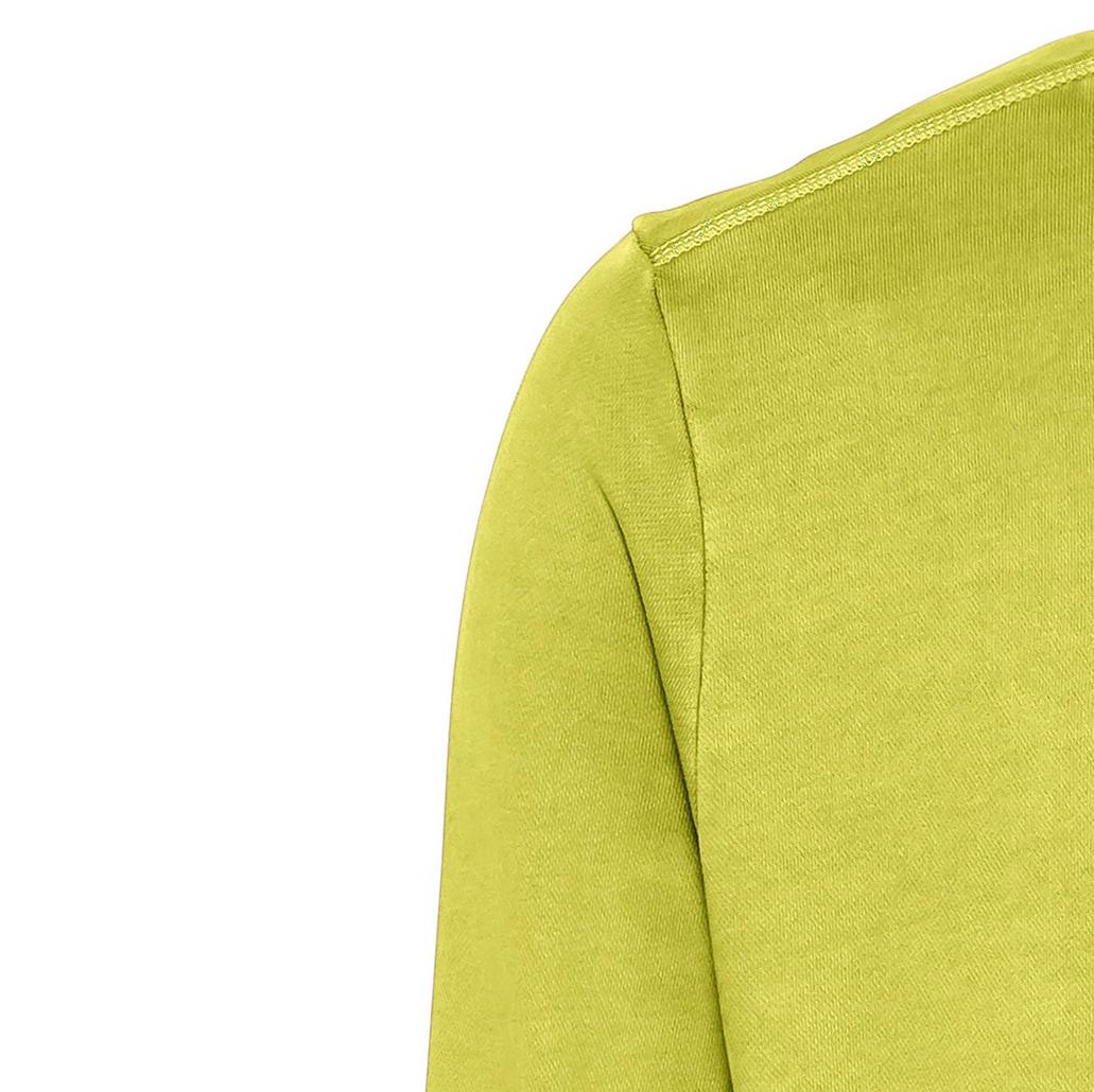 Camel active Herren Basic Sweat Shirt grün unifarben 5F04409347 62