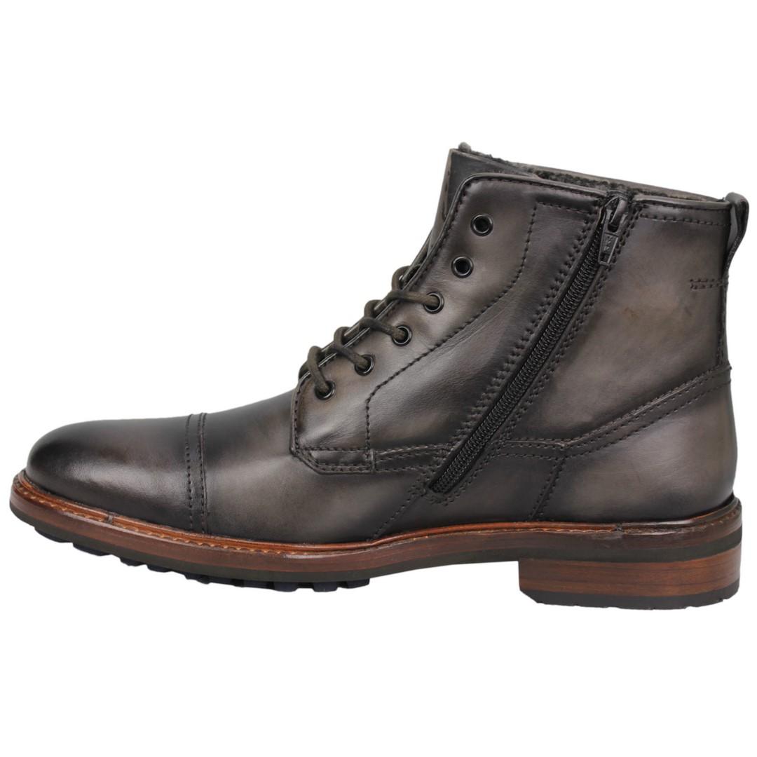 Bugatti Herren Schuhe Stiefel Boots grau 311 78151 1100 1100 dark grey