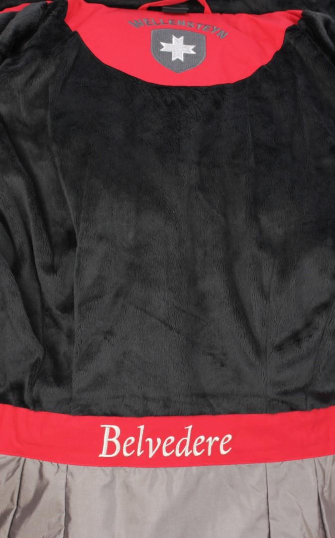 Wellensteyn Damen Jacke Belvedere Belvitesse Short schwarz BVDS 44 rot