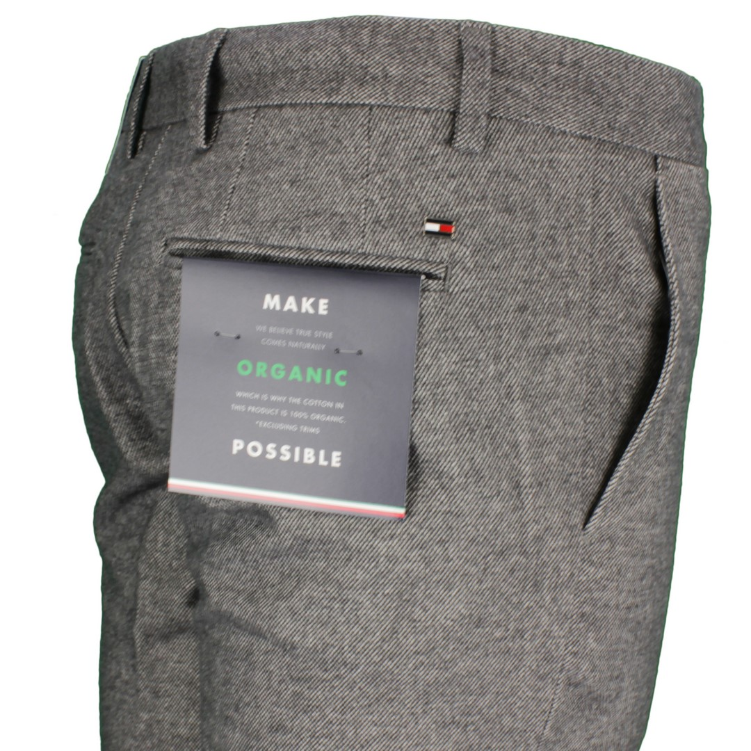 Tommy Hilfiger Chino Hose Denton Chino Wool Look Flex Organic grau MW0MW14945 AAD