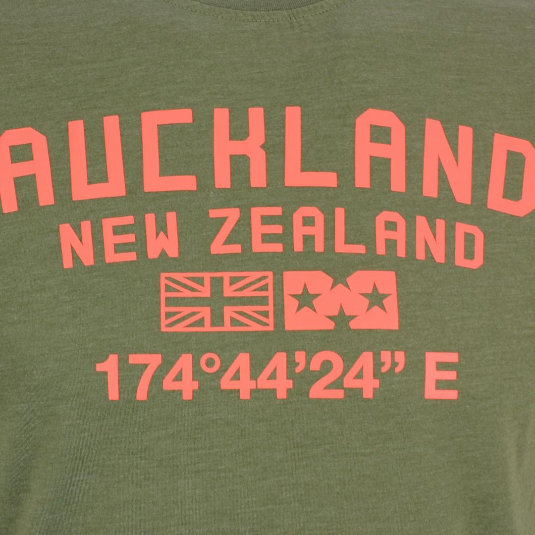 New Zealand Auckland NZA Herren T-Shirt grün 21CN712 500 Auckland Army