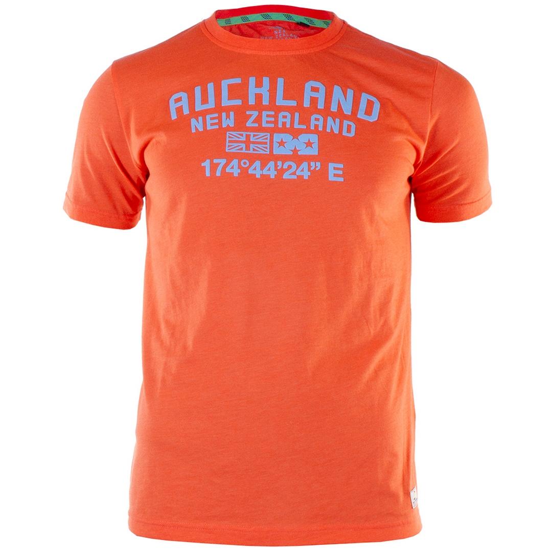 New Zealand Auckland NZA Herren T-Shirt orange 21CN712 607 orange pepper