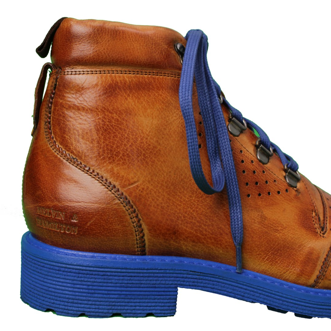 Melvin & Hamilton Herren Stiefel Boots braun Trevor 5 113499 Classic Cognac