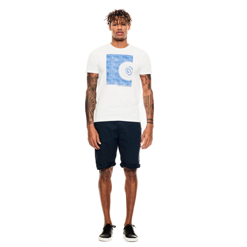 Garcia Herren T-Shirt weiß D11201 50 white
