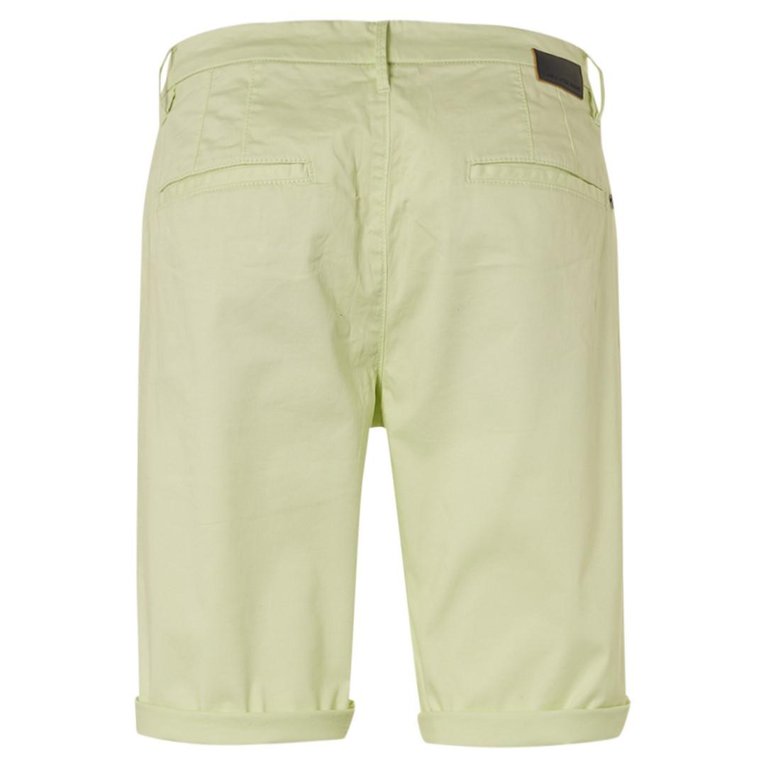 No Excess Chino Short grün unifarben 118190306 056