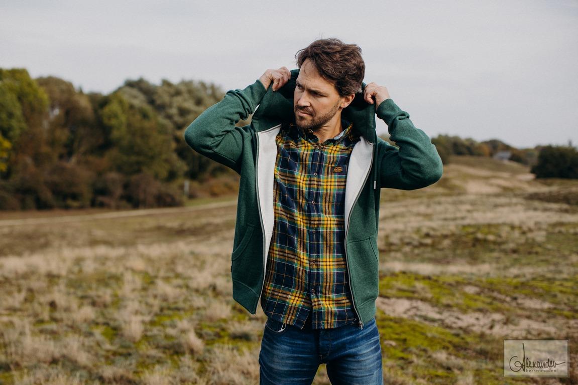 Superdry Freizeithemd mehrfarbig kariert M4010460A 6IQ Tufnell Check Gold Heritage LumberJack Shirt