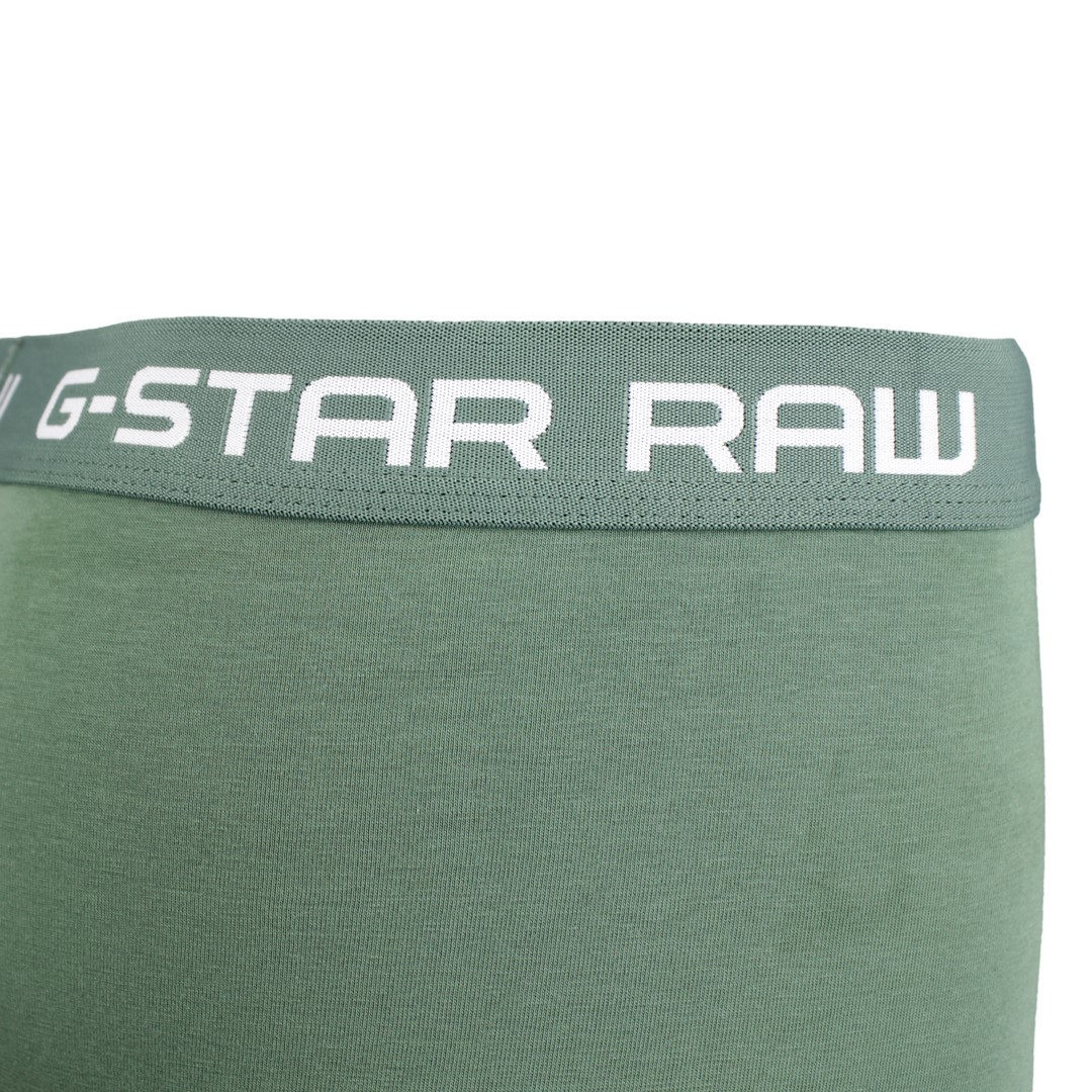 G-Star Boxershort Dreier Pack anthrazit grau grün D05095 2058 8529
