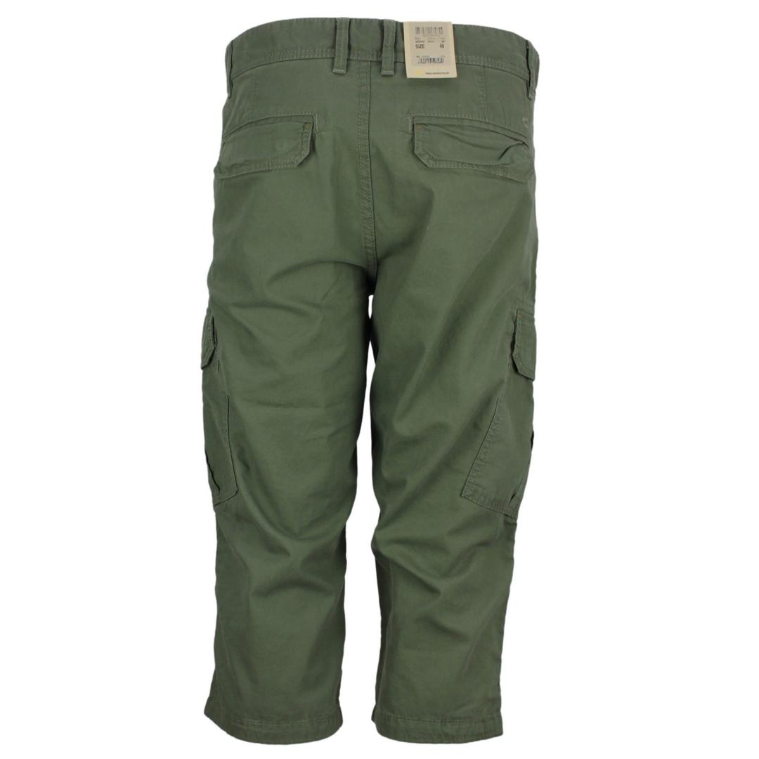 Camel active Herren Cargo Capri Short grün unifarben 3R96 496650 38