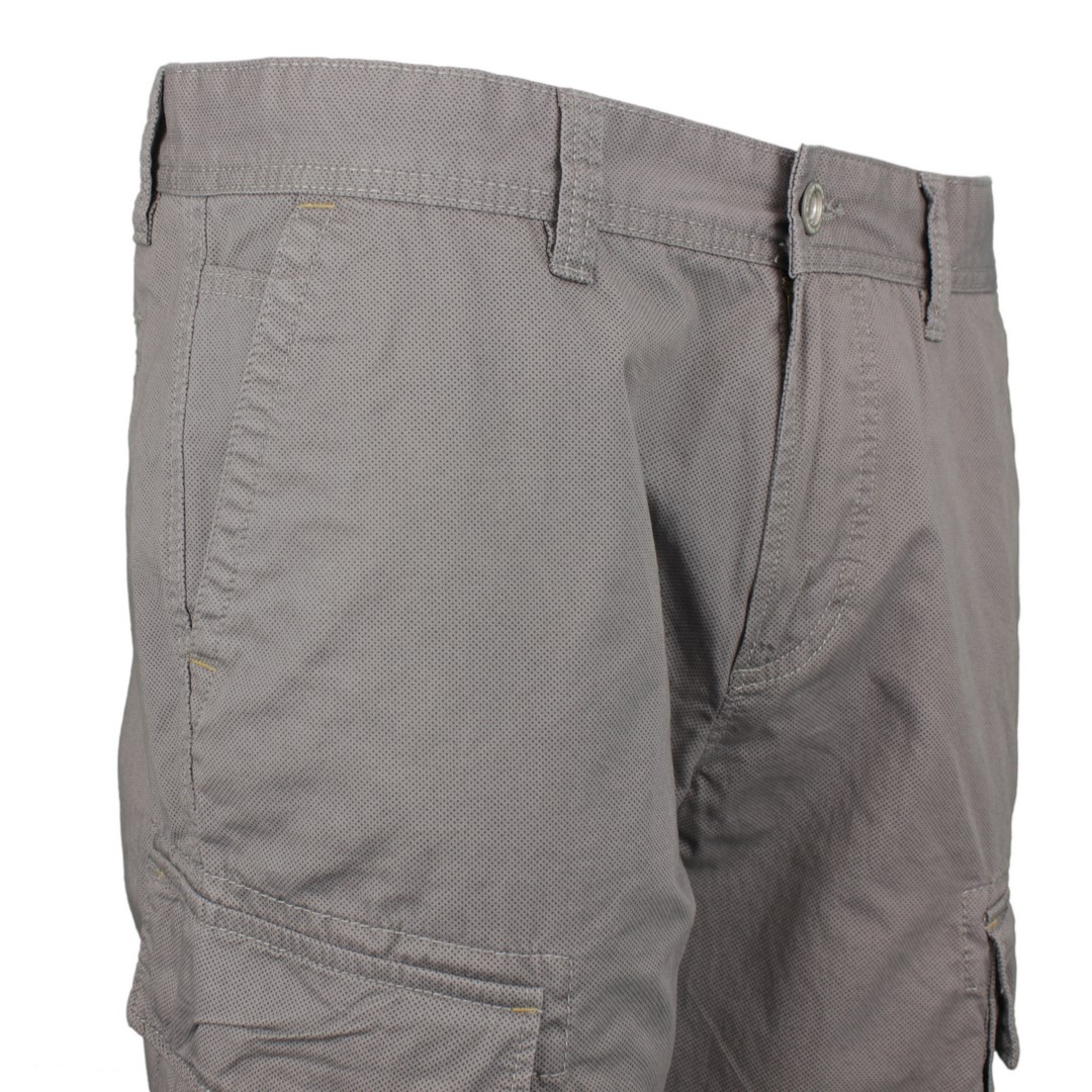 Camel active Herren Cargo Short grau Minimal Muster 1Z83 496530 06