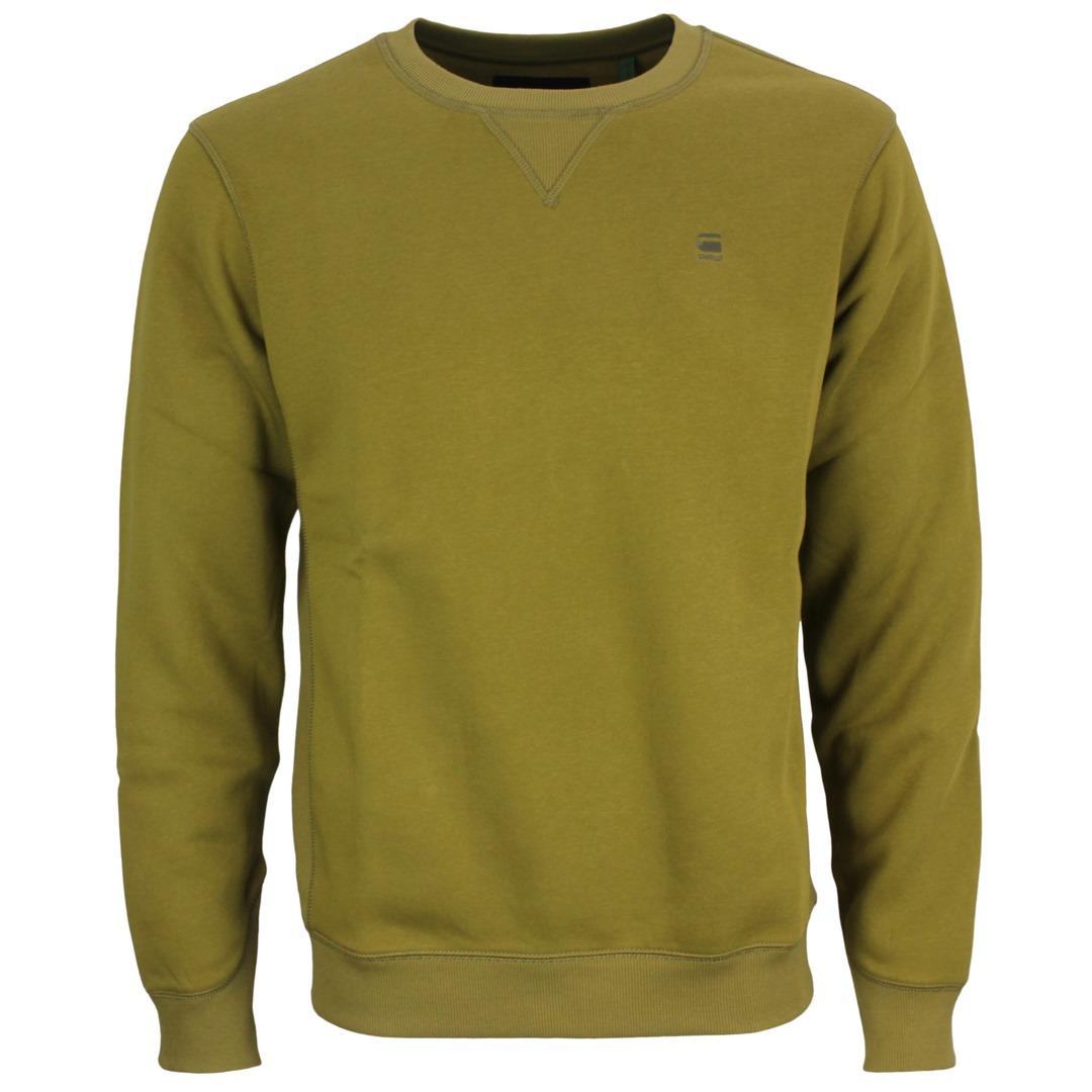 G-Star Raw Premium Core Sweatshirt Uni grün D16917 C620 1330 light antic green