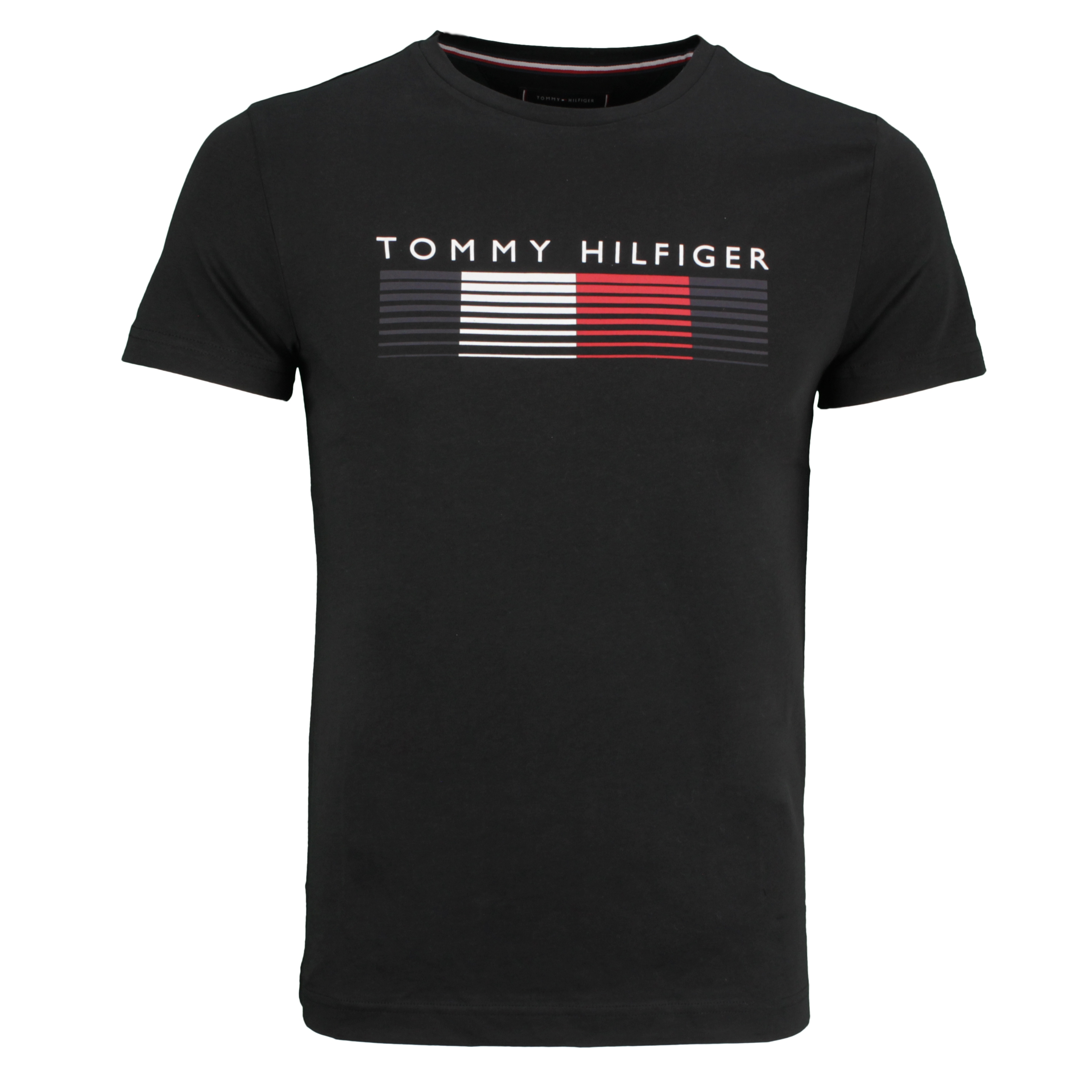 Tommy Hilfiger T-Shirt Shirt kurzarm Fade Graphic Corp Tee schwarz MW0MW21008 BDS-BLACK