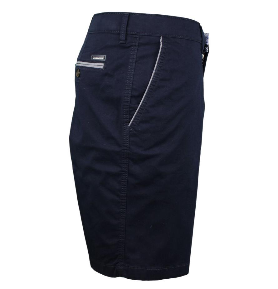 Gardeur Herren Chino Short marine blau unifarben JASPER-8 411541 68