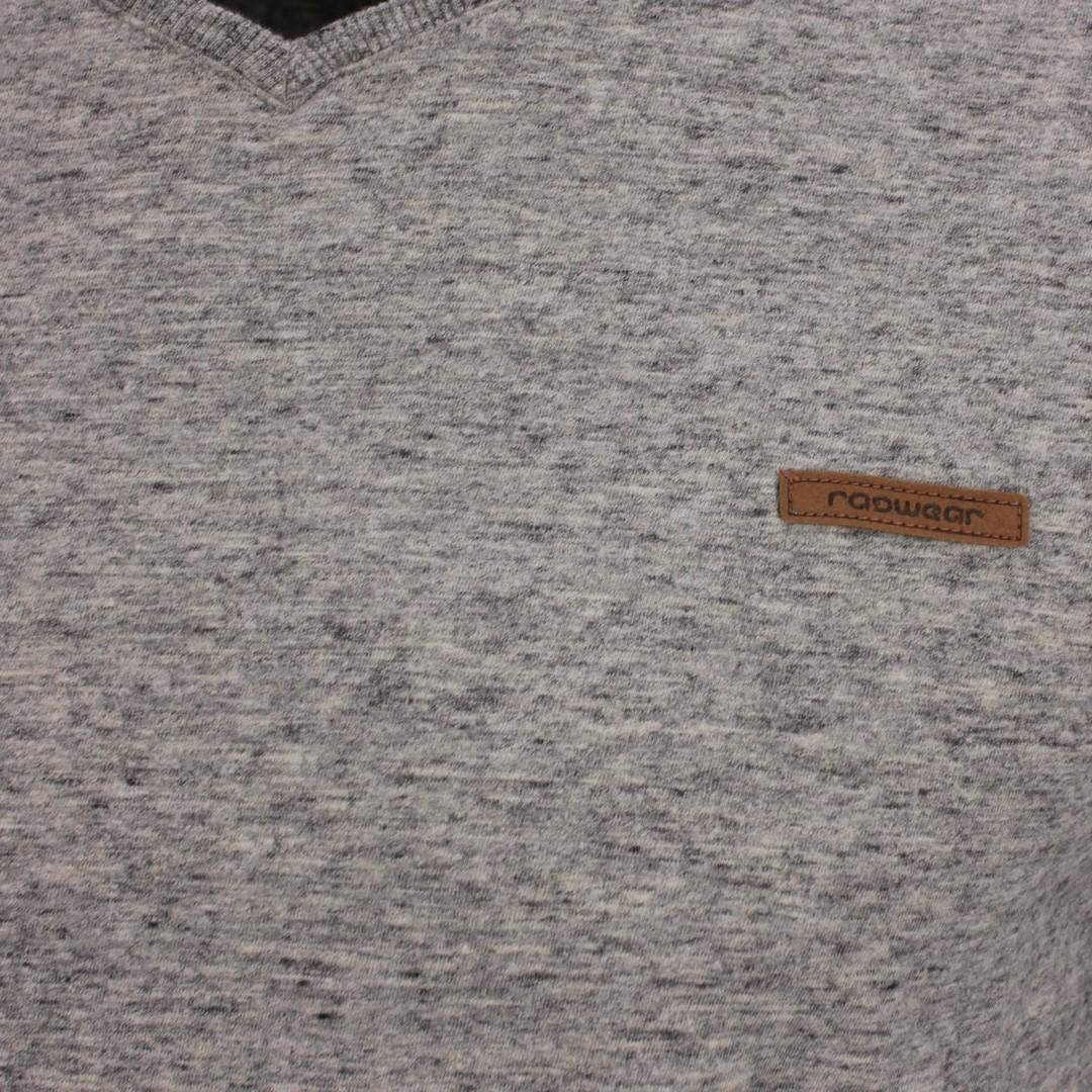 Ragwear Herren T-Shirt Venie grau unifarben 2112 15002 3000 grey