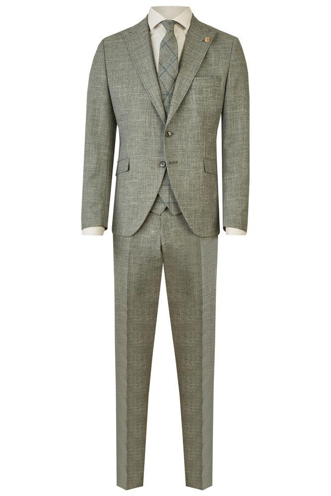 Wilvorst Hochzeitsanzug Sakko grün Green Wedding 401259 10252 044