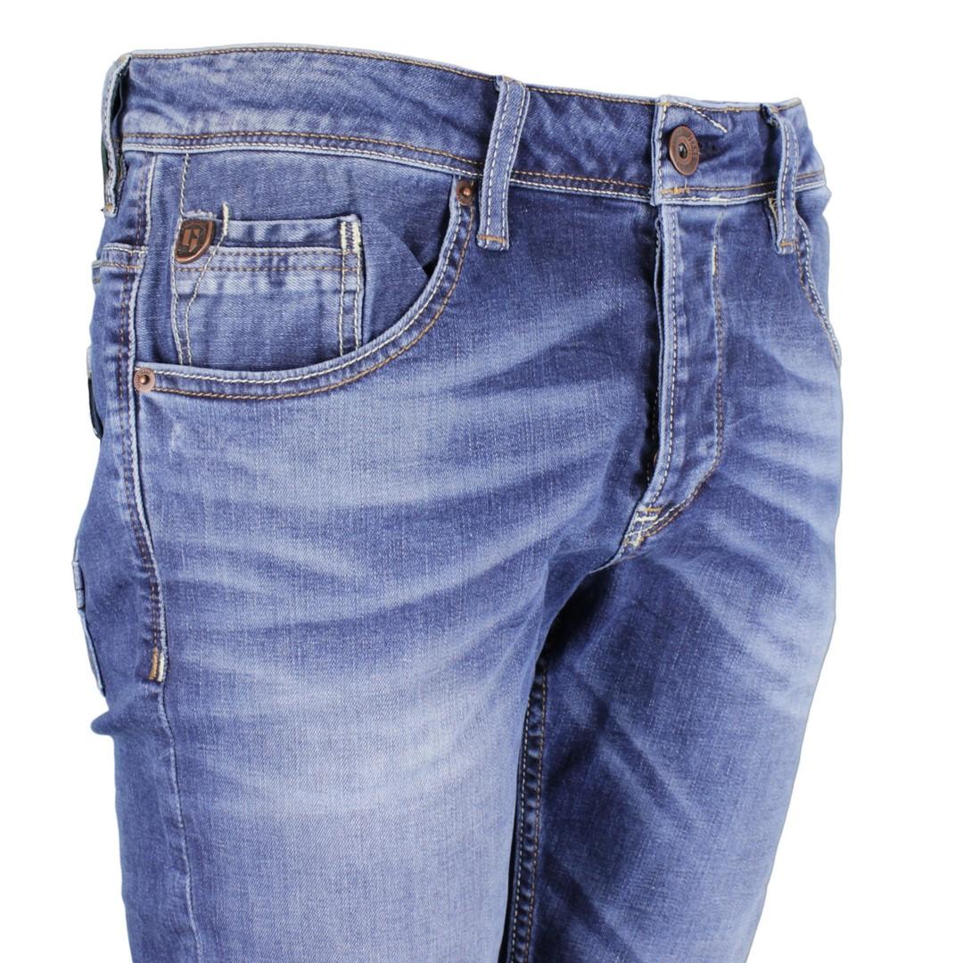 Garcia Herren Jeans Hose Jeanshose Stone Washed mittel blau Savio 630 5763 vintage used