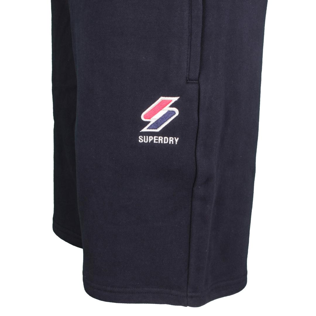 Superdry Sweat Short Sportstyle Essential Short blau M7110238A JKE deep navy