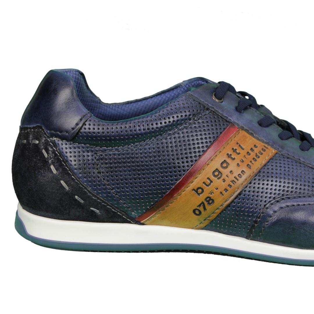 Bugatti Herren Schuhe Sneaker blau 311 45010 4141 4163 b.blue