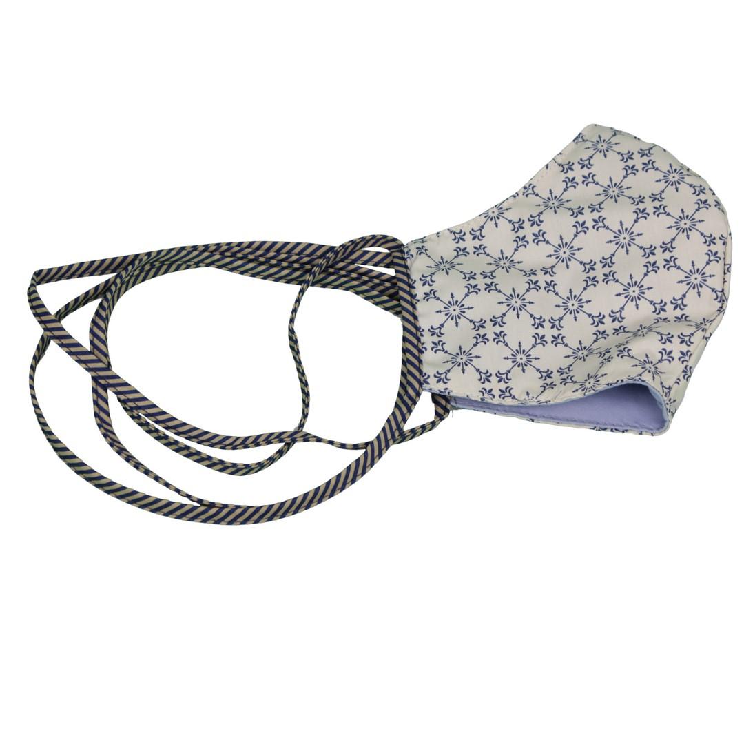 Gardeur Mund Nasen Maske Stoffmaske Alltagsmaske zweiseitig blau Maske blue