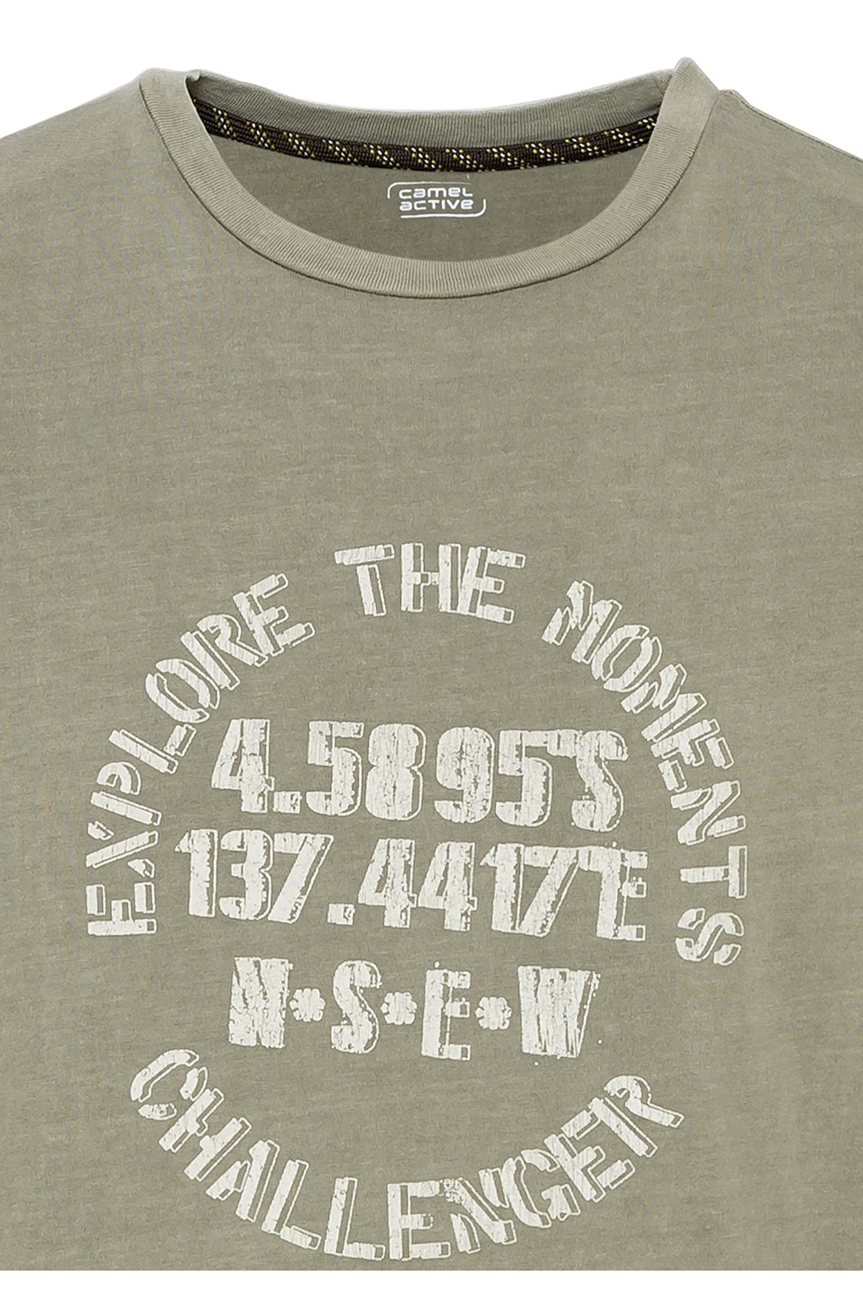 Camel active T-Shirt Khaki grün 5T46409646 31