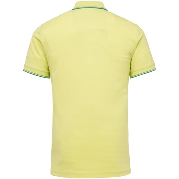 PME Legend Polo Shirt Stretch Pique gelb unifarben PPSS214871 6315
