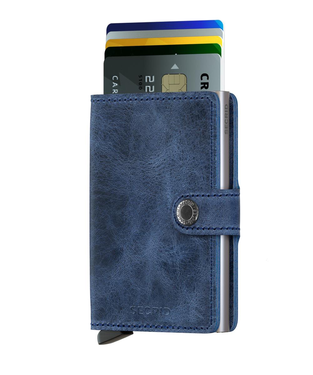 Secrid Miniwallet Vintage Blue Portmonnaie blau
