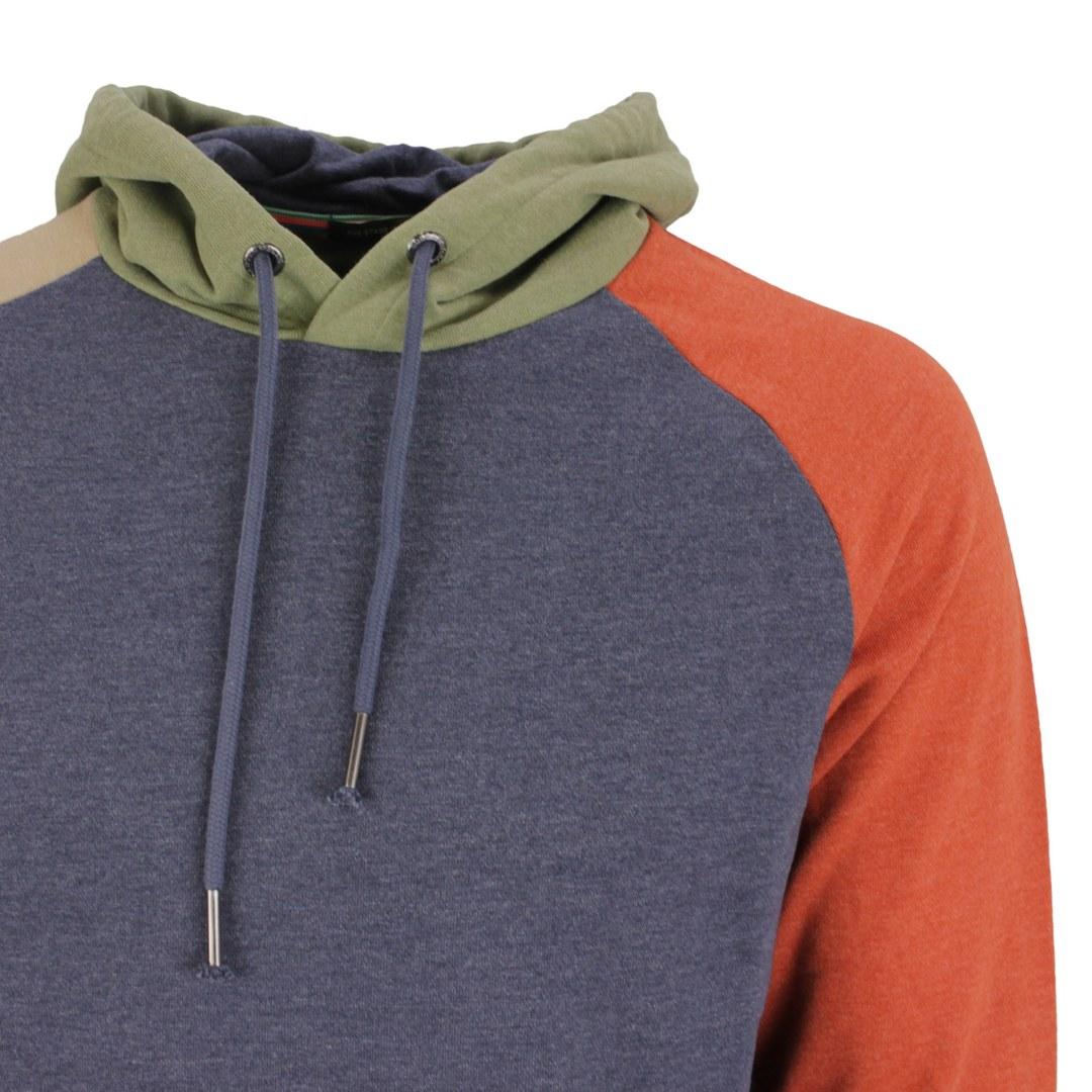 Colours & Sons Herren Sweat Pullover Hoodie 9221 445 900 Colourblock