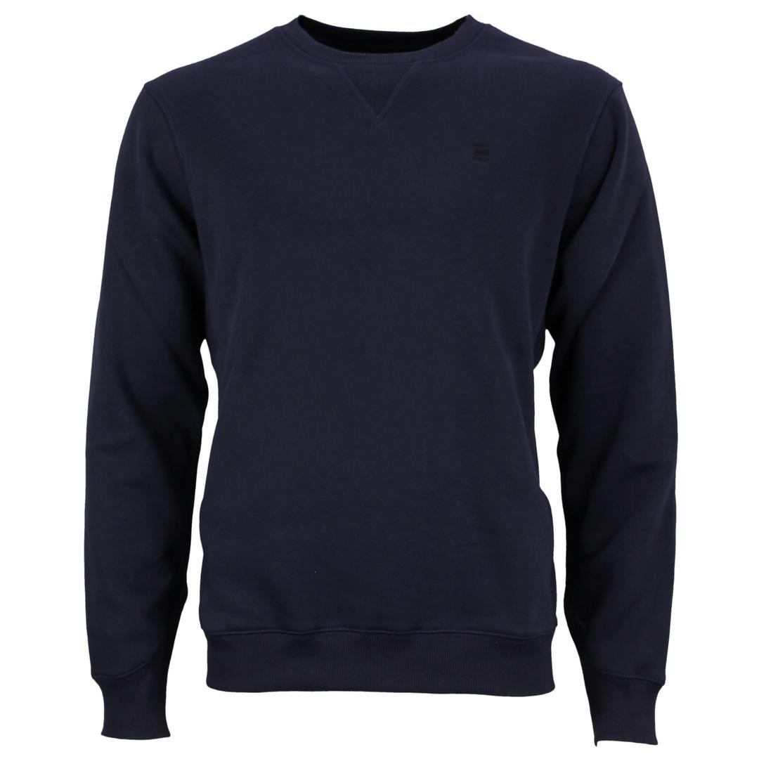 G-Star Raw Premium Core Sweat Shirt Sweatshirt Uni blau d16917 C235 6067 sartho blue