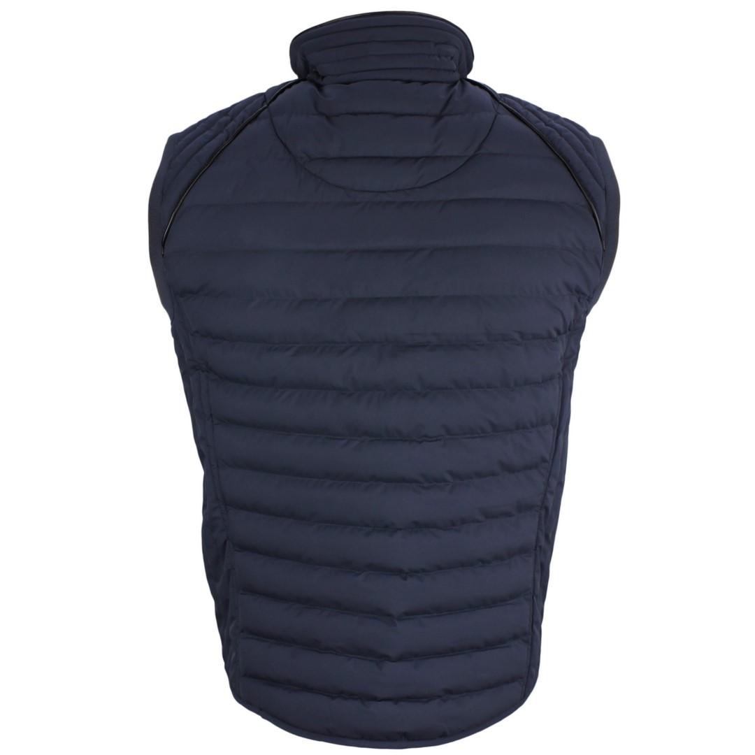 Wellensteyn Herren Weste MOL Men Vest blau Unifarben MOVM 719 Moonlight