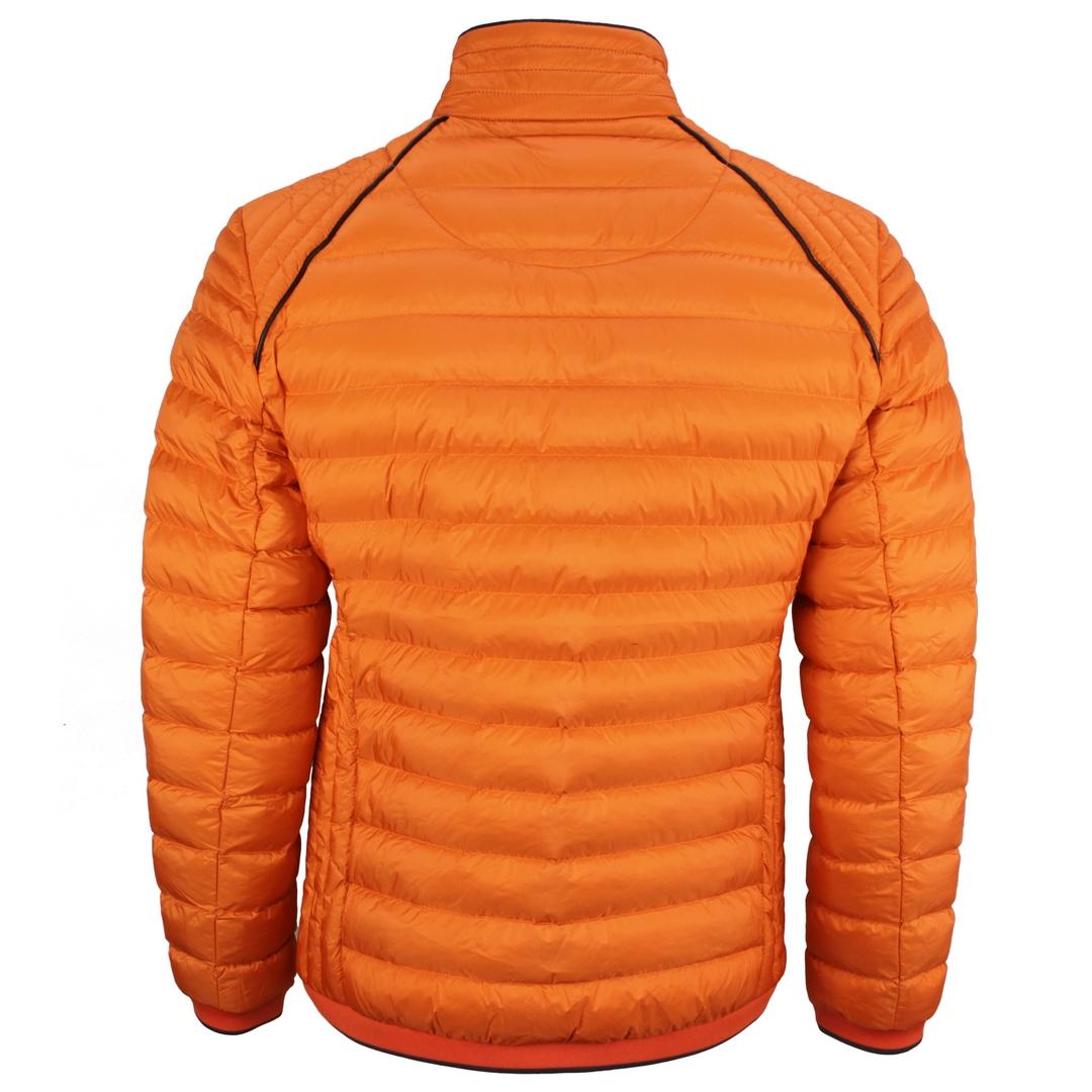 Wellensteyn Herren Stepp Jacke orange Molecule Men MOLM 666 Orange Metall