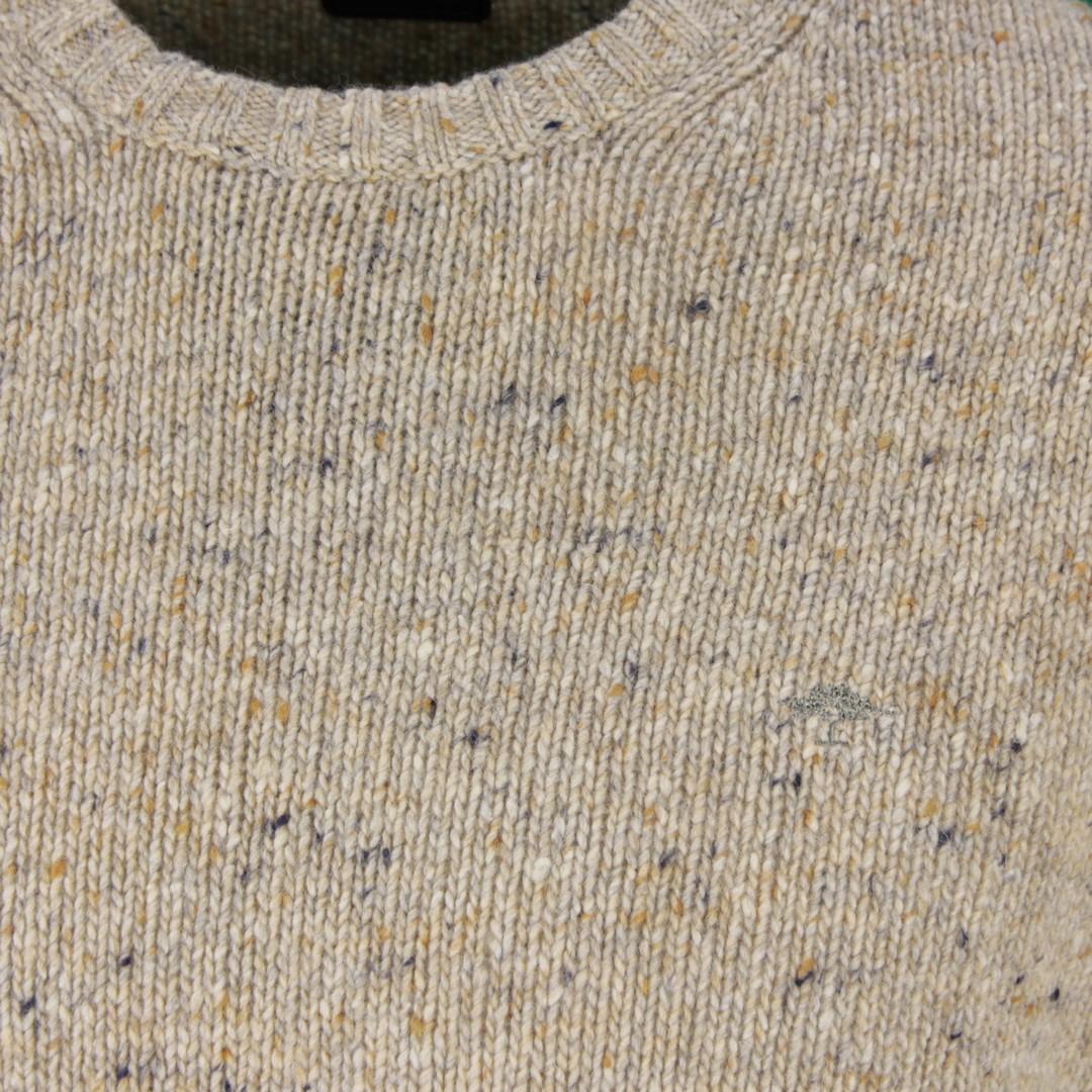 Fynch Hatton Herren Strick Pullover braun meliert 1220400 806 dune